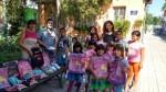 """Лъвове зарадваха децата от """"Мария Луиза"""" с раници за 15 септември"""